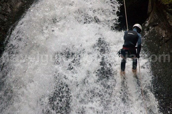 Canyoning in Parcul Natural Apuseni - Canionul Galbenei