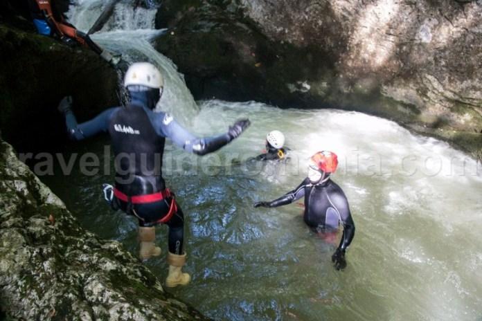 Canyoning pe Valea Galbenei - Parcul Natural Apuseni