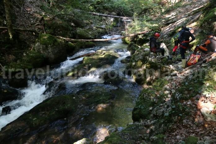 Intrarea in Canionul Galbenei - Parcul Natural Apuseni