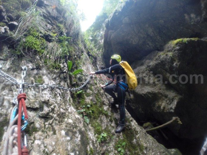 Ture ghidate in Canionul Galbenei - Muntii Apuseni