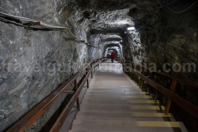Intrare in Mina de sare de la Praid - Tinutul Sarii
