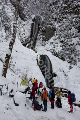 Obiective turistice din judetul Neamt - Cascada Duruitoarea - Muntii Ceahlau