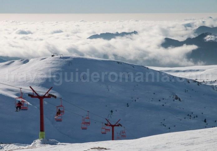 Partii schi Valea Prahovei - schi Sinaia