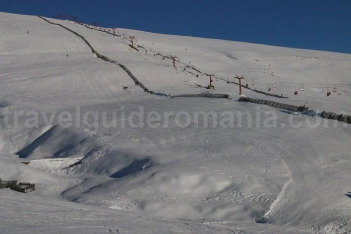 Schi Sinaia - Partiile din Valea Dorului