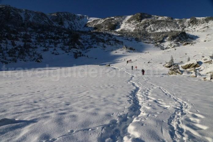 Initiere in alpinism de iarna - Muntii Godeanu