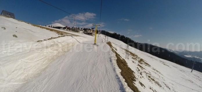 Partie de schi la Statiunea Parang - Hunedoara