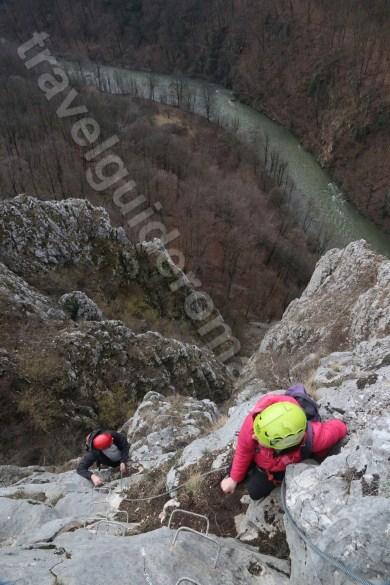 Via ferrata Romania - aventura in Muntii Apuseni