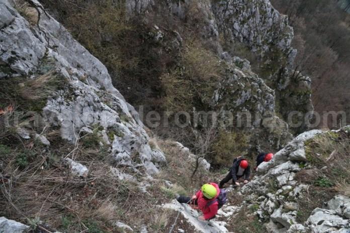 Via ferrata din Vadu Crisului - judetul Bihor