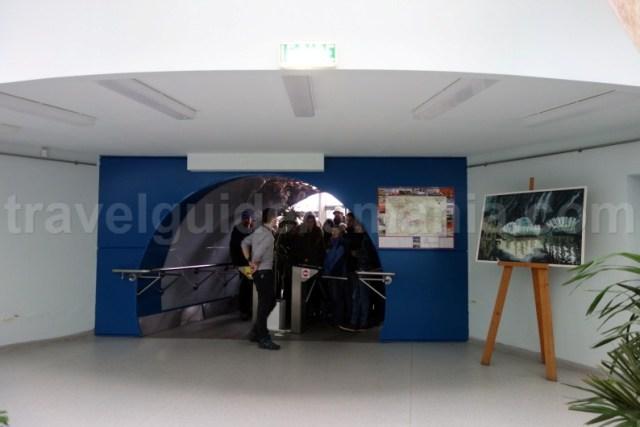 Acces in Salina Turda - judetul Cluj
