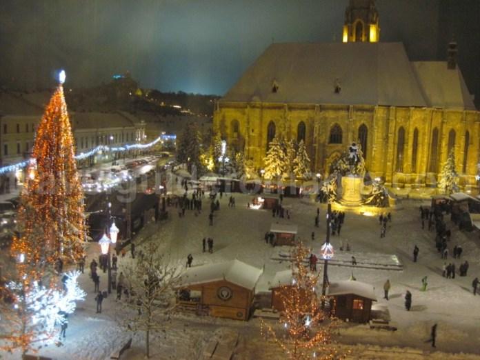 Targul de Craciun din Cluj Napoca - Piata Unirii