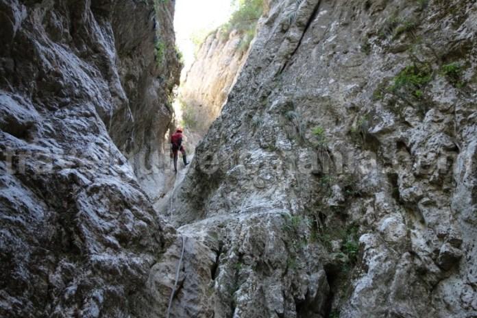 Canyoning in zona Rucar - Bran