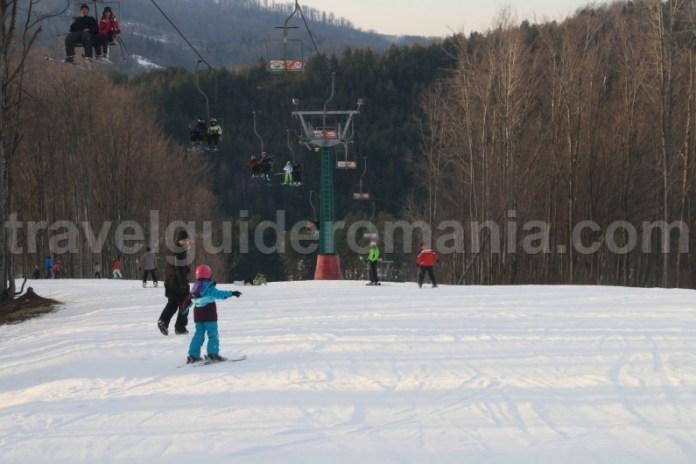 Ski la Valiug langa Resita