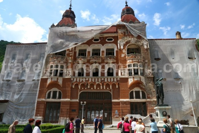Pavilionul 6 (sau Hotel Dacia) - Baile Herculane