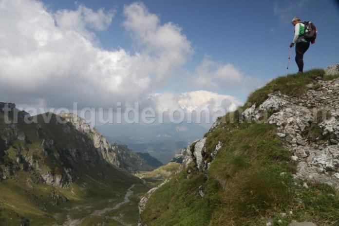 spre vârful Omu - Trekking in muntii Bucegi