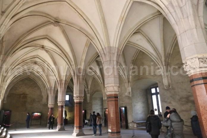 Sala Cavalerilor - Castelul Corvinlor
