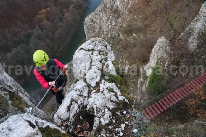 Aventura in Romania - via ferrata Vadu Crisului