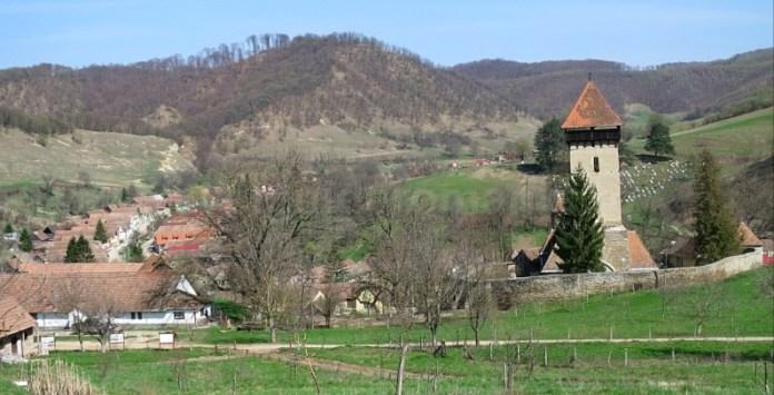 biserica fortificata malancrav transilvania