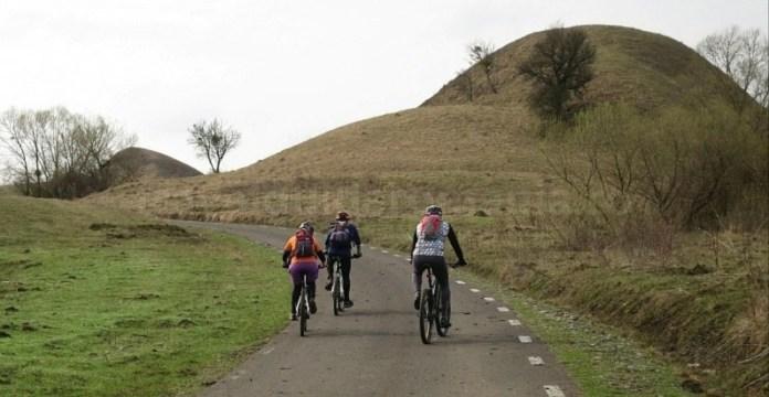 Traseu bicicleta zona satului Saschiz