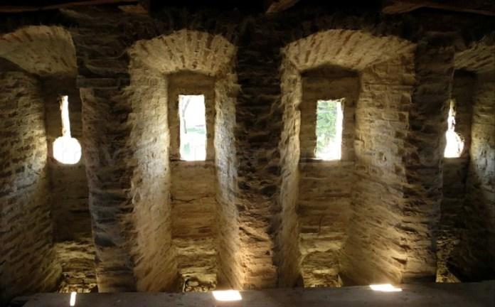 interior turn biserica fortificata mosna