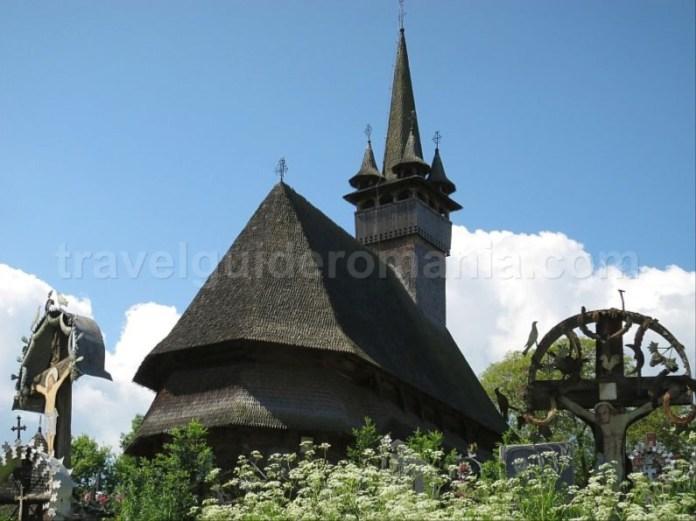 Destinaţia ecoturistică Mara Cosău Creasta Cocoșului Maramureş biserica lemn