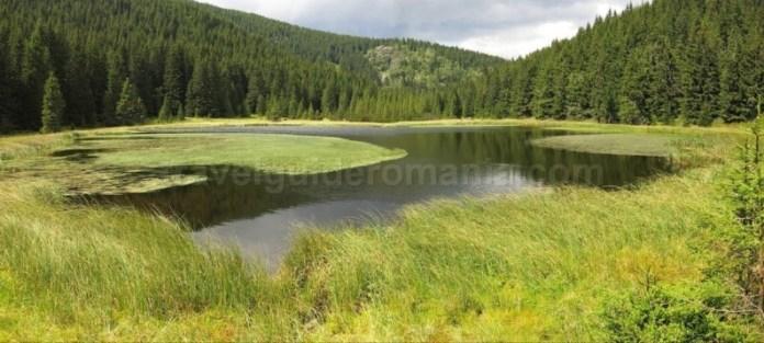 Iezerul Latoritei lac glaciar