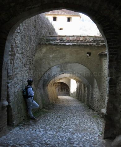 curte biserica fortificata biertan unesco transilvania