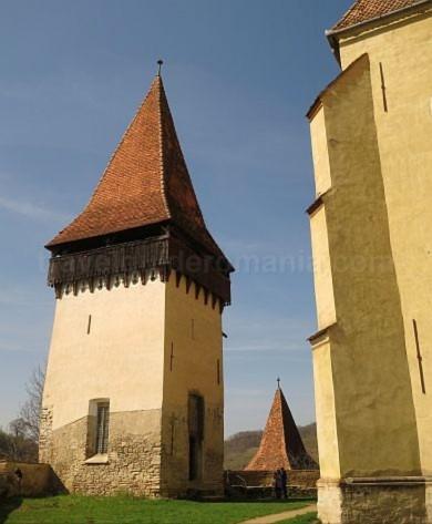 turn biserica biertan unesco transilvania