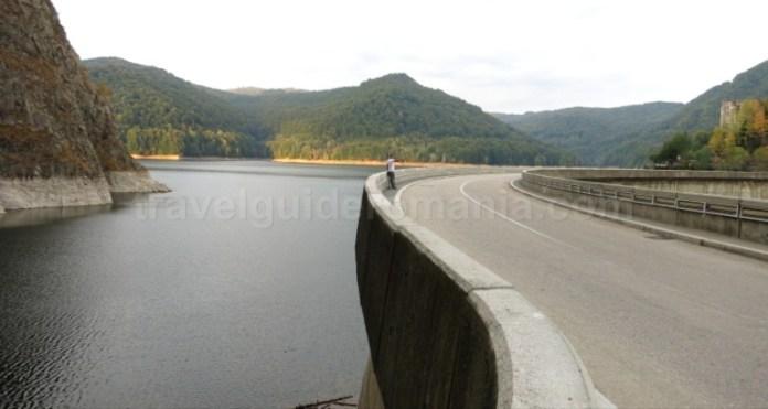 transfagarasan lac vidraru