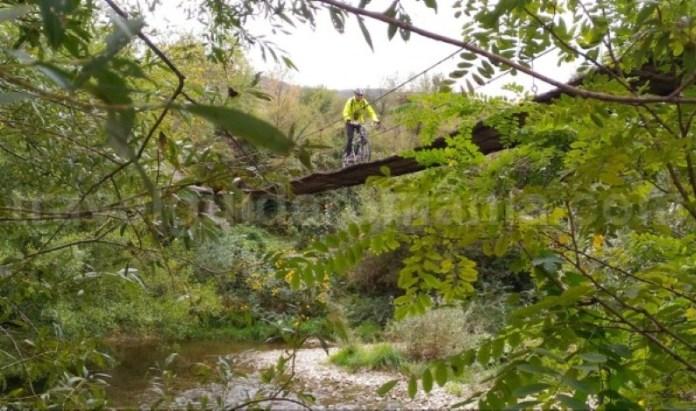 Parcul National Cheile Nerei-Beusnita pod suspendat