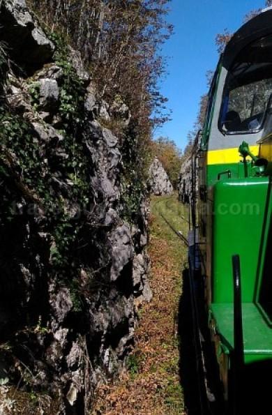 tren montan anina oravita Semeringul Bănățean