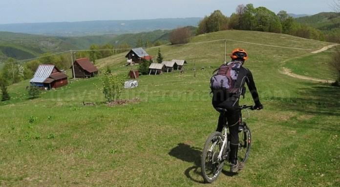 mountain biking Valea Bratcutei Pădurea Craiului