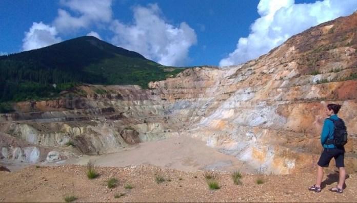 Parcul Naţional Călimani cariera de sulf