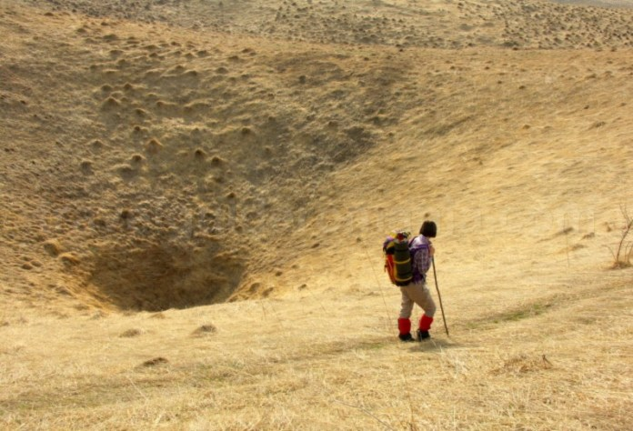 Platoul Vascau Apuseni dolina palnie