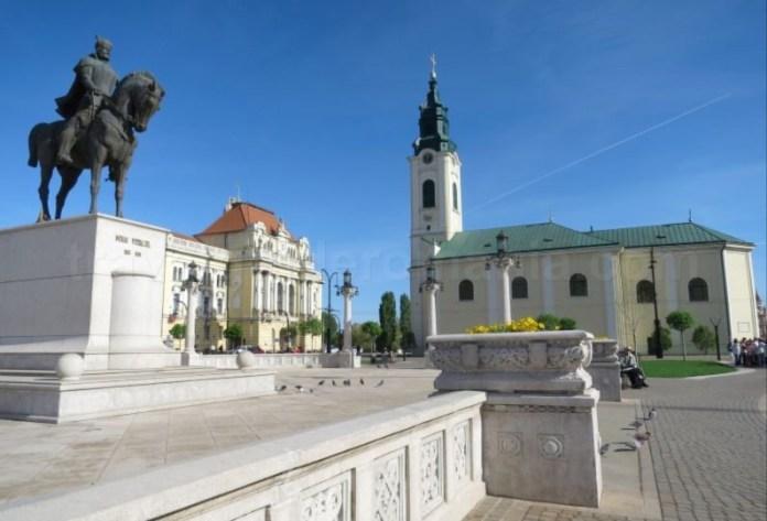 Primaria si Piata Unirii Oradea