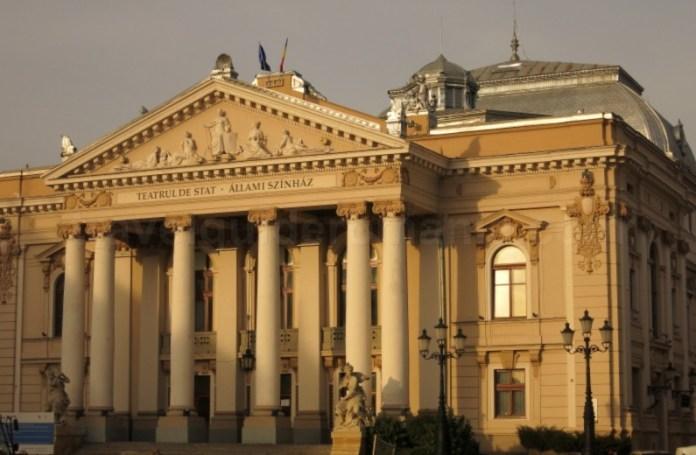 "Teatrul ""Regina Maria"" Oradea Piata Ferdinand"