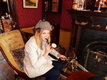 221b baker street museum pipe study