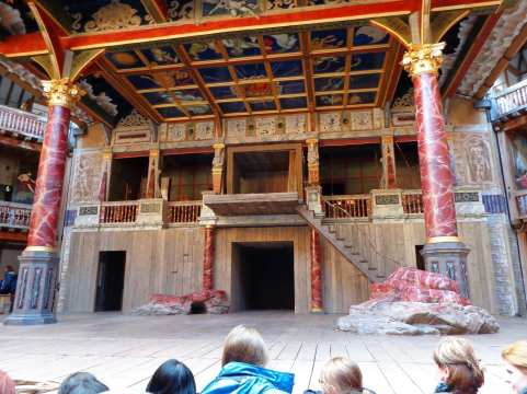 globe theatre tickets stage london