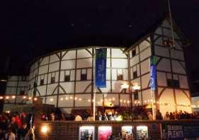 globe theatre tickets london at night