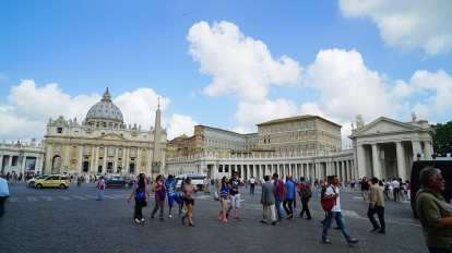 Visiting Vatican City
