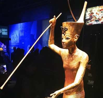 King Tut Exhibition at the California Science Center