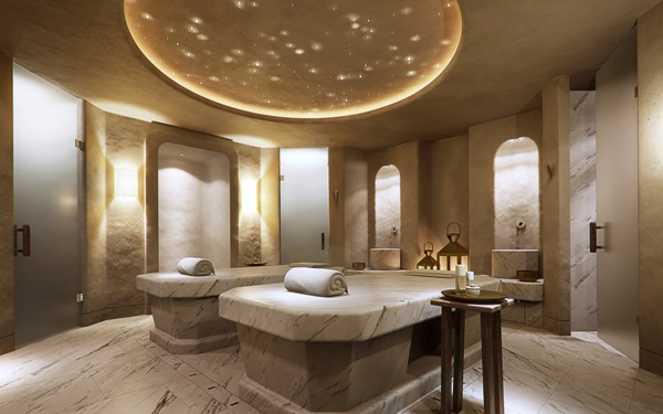 Some Outrageous Spas of Middle East