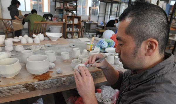 japanese ceramic art schools