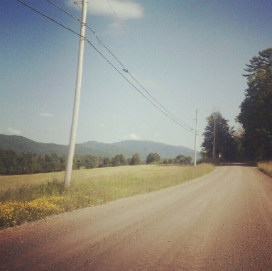 Back Road Driving in Vermont