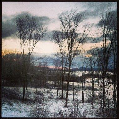 Foote Farm Snowy Morning