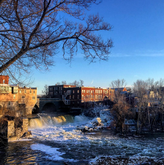 Vermont Middlebury Falls