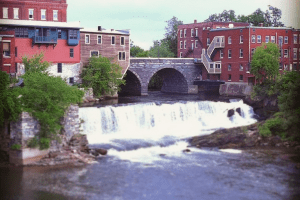 Otter Creek Falls, Middlebury, Vermont
