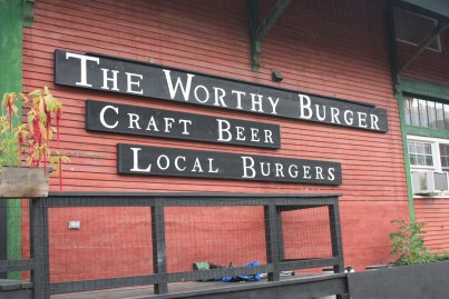 Worthy Burger, South Royalton, Vermont