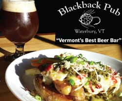 Blackback Pub, Waterbury, Vermont