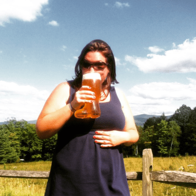 Erin at Von Trapp Brewing - Stowe, Vermont