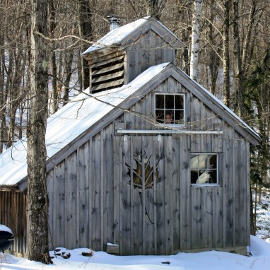 Maple Sugar House - Things to Do in Spring in Vermont